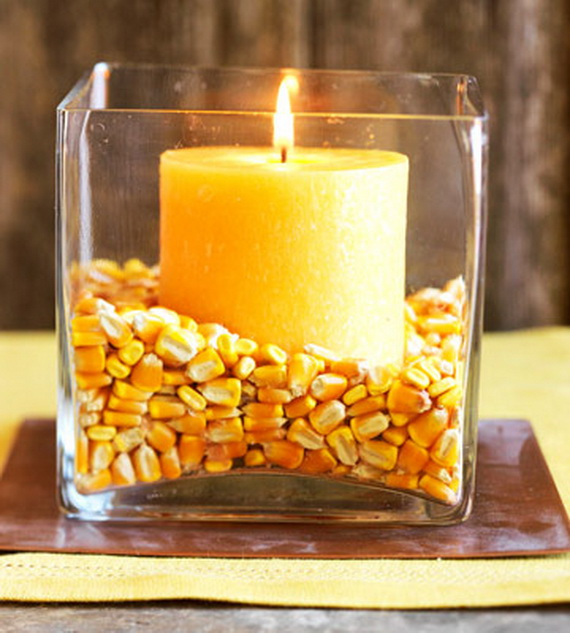 Exquisite  Candles  for Elegant Thanksgiving   Holiday_05