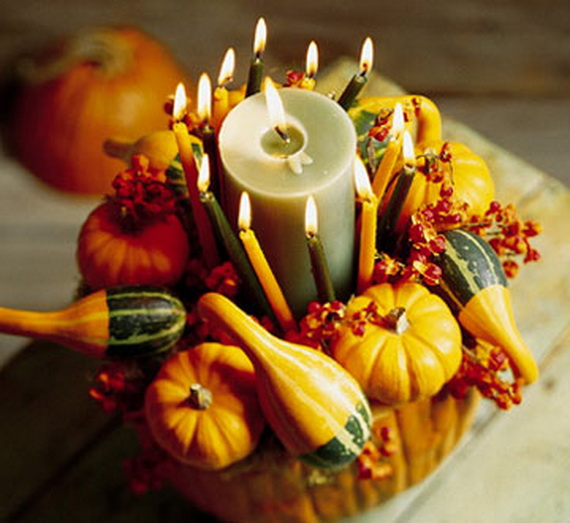 Exquisite  Candles  for Elegant Thanksgiving   Holiday_08
