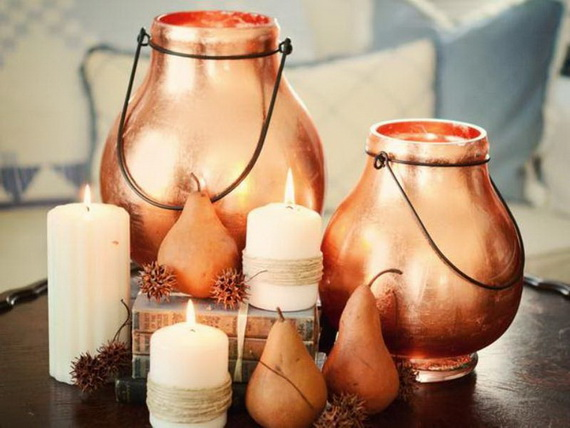 Exquisite  Candles  for Elegant Thanksgiving   Holiday_10