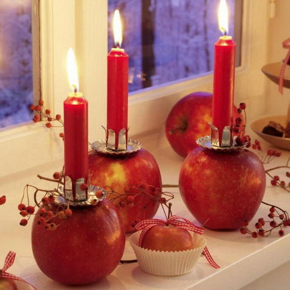 Exquisite  Candles  for Elegant Thanksgiving   Holiday_16