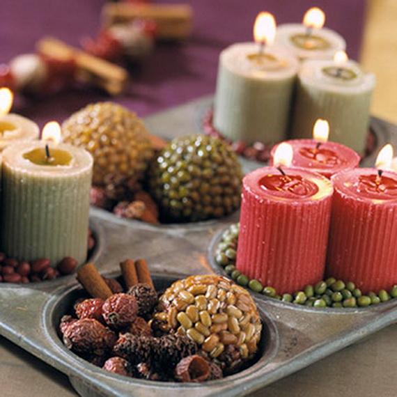Exquisite  Candles  for Elegant Thanksgiving   Holiday_17