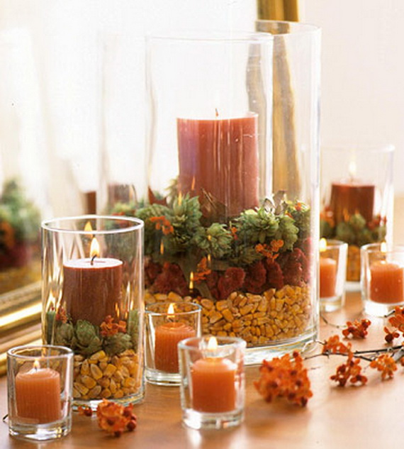 Exquisite  Candles  for Elegant Thanksgiving   Holiday_19