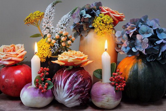 Family Fun With Easy Centerpiece Ideas On Thanksgiving_07