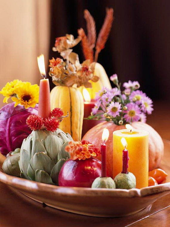 Family Fun With Easy Centerpiece Ideas On Thanksgiving_12