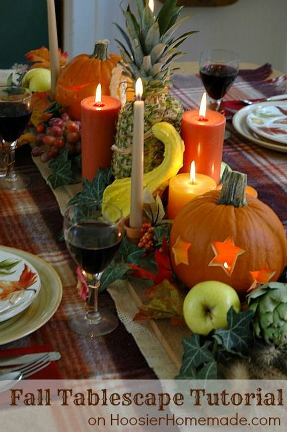 Family Fun With Easy Centerpiece Ideas On Thanksgiving_23