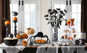 Halloween Holiday With Indoor Decoration