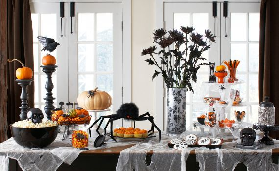 Halloween Holiday With Indoor Decoration Family Holiday