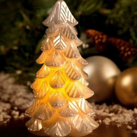 Holiday Decorating Ideas with Christmas Tree Candles_04