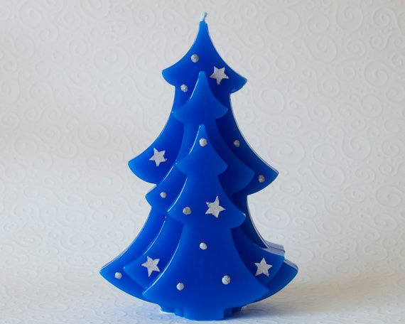 Holiday Decorating Ideas with Christmas Tree Candles_05