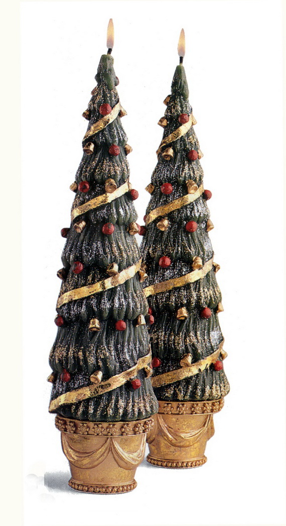 Holiday Decorating Ideas with Christmas Tree Candles_07