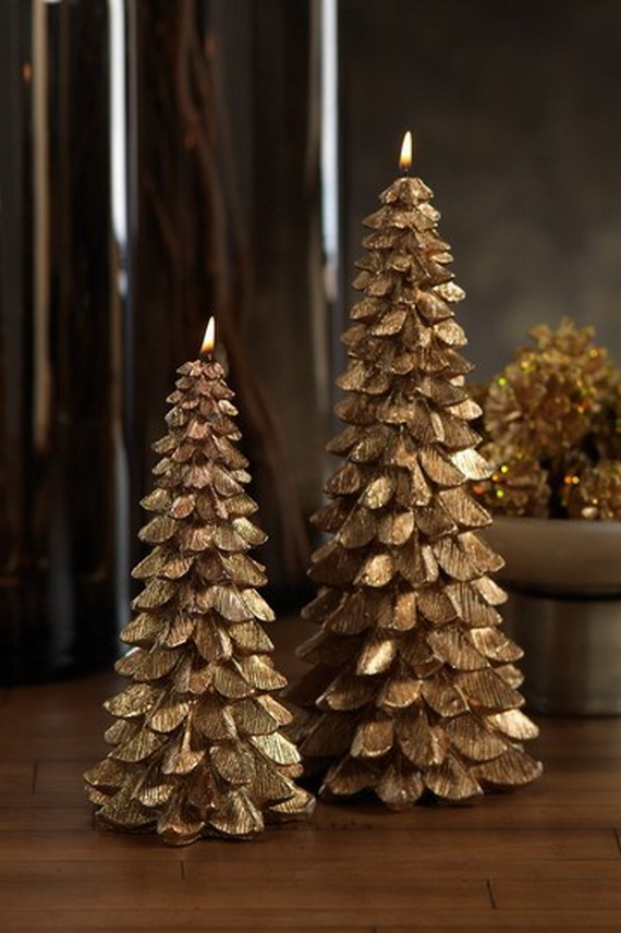 Holiday Decorating Ideas with Christmas Tree Candles_10