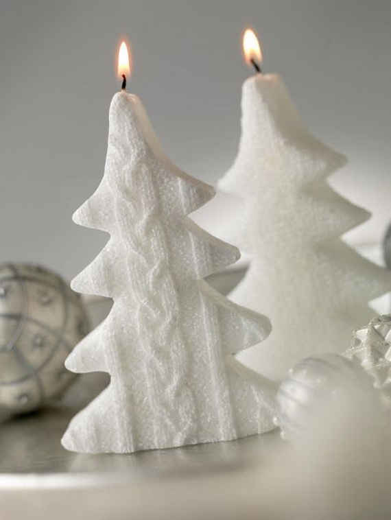 Holiday Decorating Ideas with Christmas Tree Candles_12
