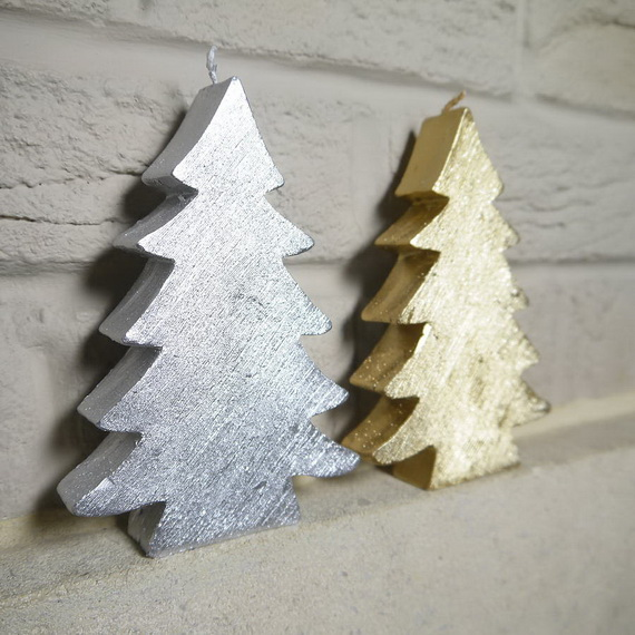 Holiday Decorating Ideas with Christmas Tree Candles_33
