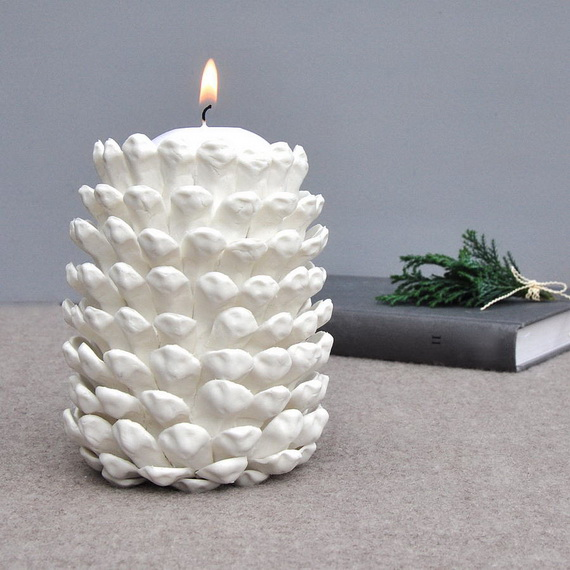 Holiday Decorating Ideas with Christmas Tree Candles_38