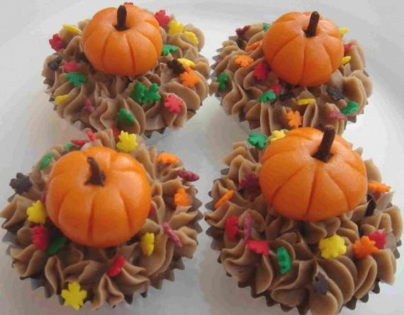 Ideas for Thanksgiving Holiday Cupcake Decorating (4)