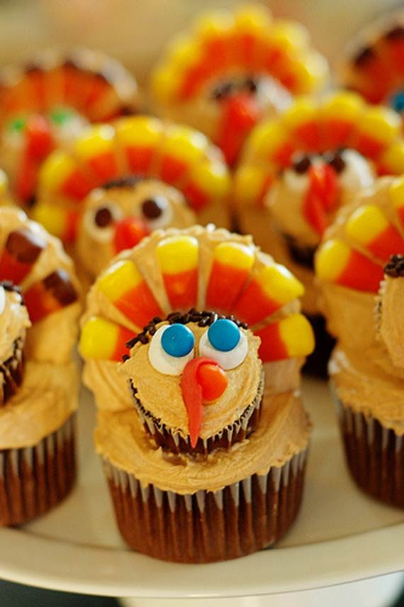 Ideas for Thanksgiving Holiday Cupcake Decorating (6)