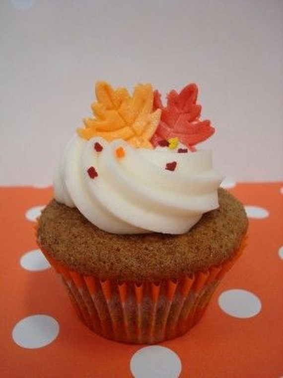 Thanksgiving Holiday Cupcakes Party Ideas_01