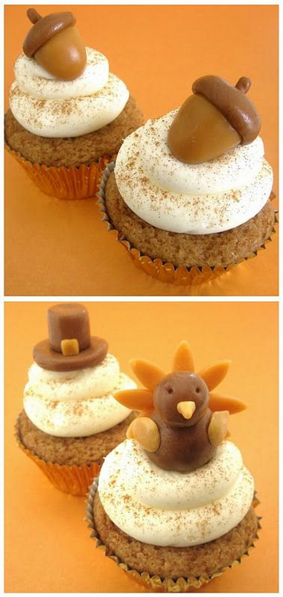 Thanksgiving Holiday Cupcakes Party Ideas_06