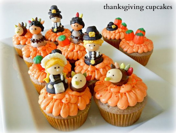 Thanksgiving Holiday Cupcakes Party Ideas_13