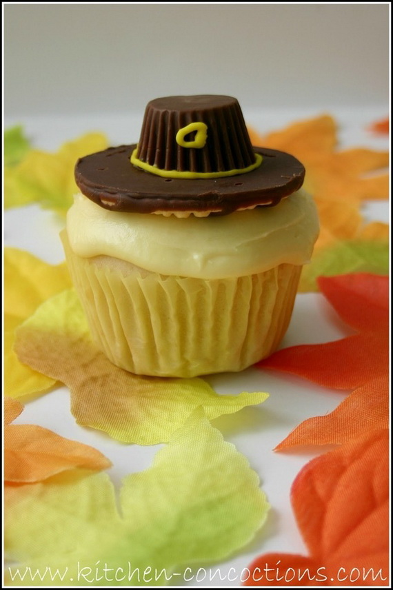Thanksgiving Holiday Cupcakes Party Ideas_14