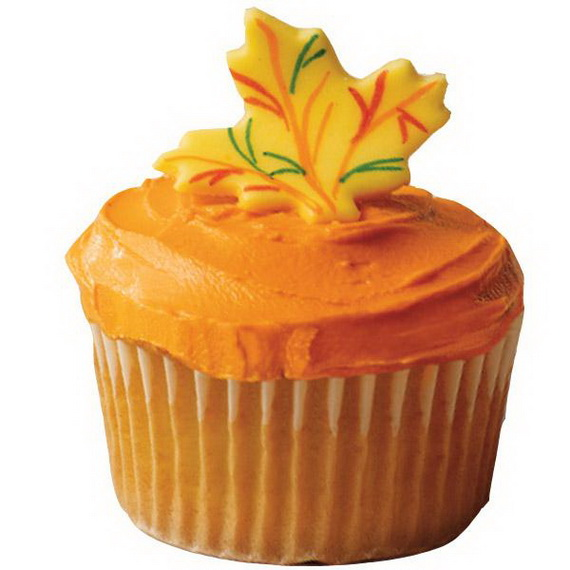 Thanksgiving Holiday Cupcakes Party Ideas_17