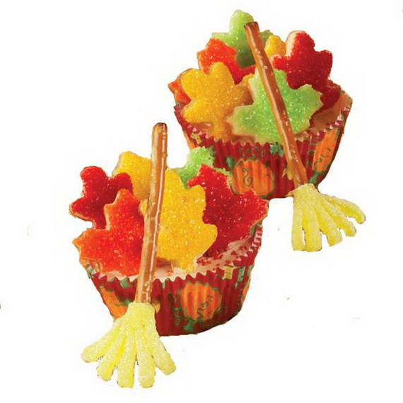Thanksgiving Holiday Cupcakes Party Ideas_21