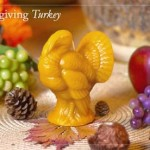 Thanksgiving Holiday Candle