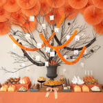 Halloween Holiday Table Decorations Ideas