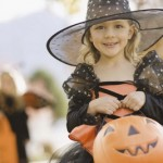 The  Halloween spirit of Trick-or-treating on Halloween Holiday