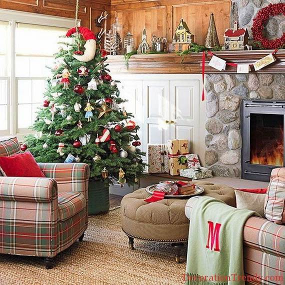 Beautiful Christmas Holiday Tree Decorating Inspirations (11)