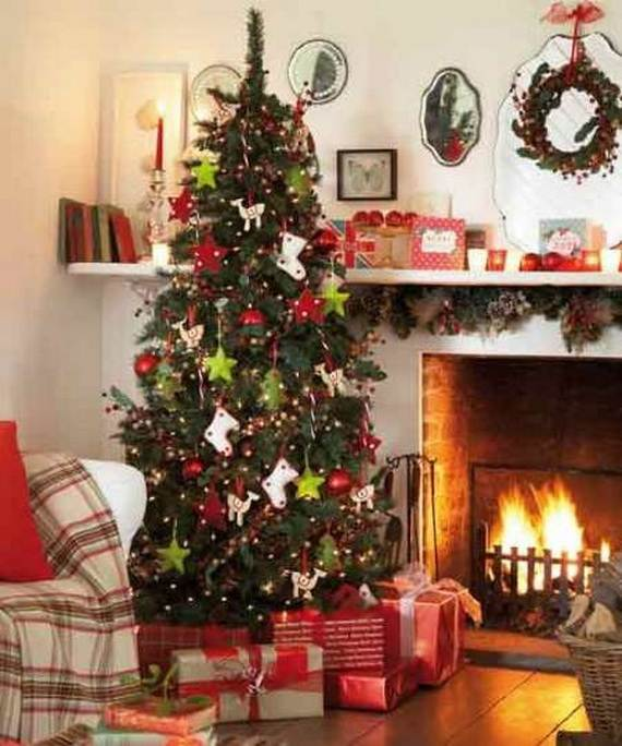 Beautiful Christmas Holiday Tree Decorating Inspirations (13)
