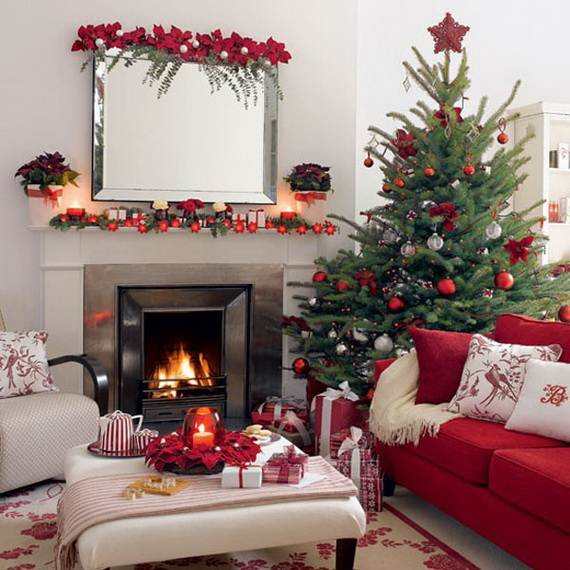 Beautiful Christmas Holiday Tree Decorating Inspirations (15)