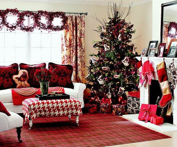 Beautiful Christmas Holiday Tree Decorating Inspirations (17)