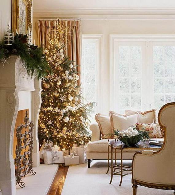 Beautiful Christmas Holiday Tree Decorating Inspirations (20)