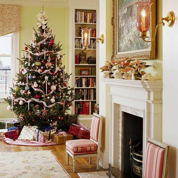Beautiful Christmas Holiday Tree Decorating Inspirations (22)