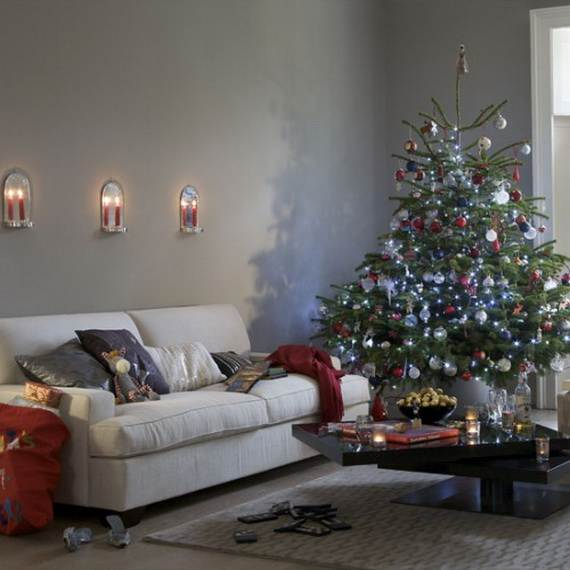 Beautiful Christmas Holiday Tree Decorating Inspirations (27)