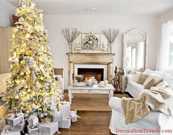 Beautiful Christmas Holiday Tree Decorating Inspirations (7)