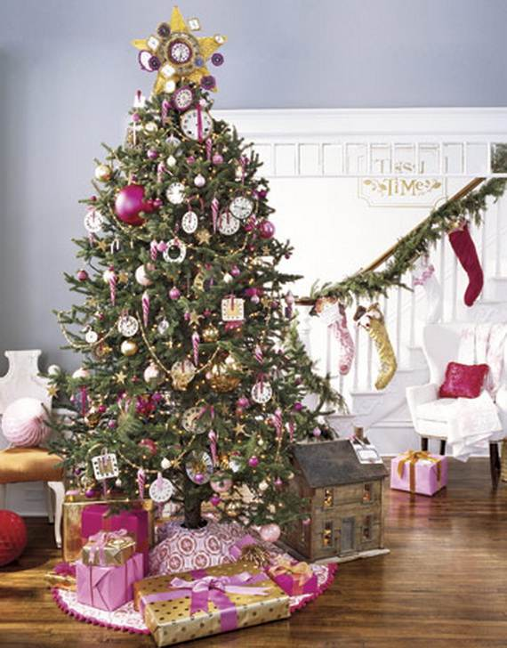 Beautiful Christmas Holiday Tree Decorating Inspirations (9)