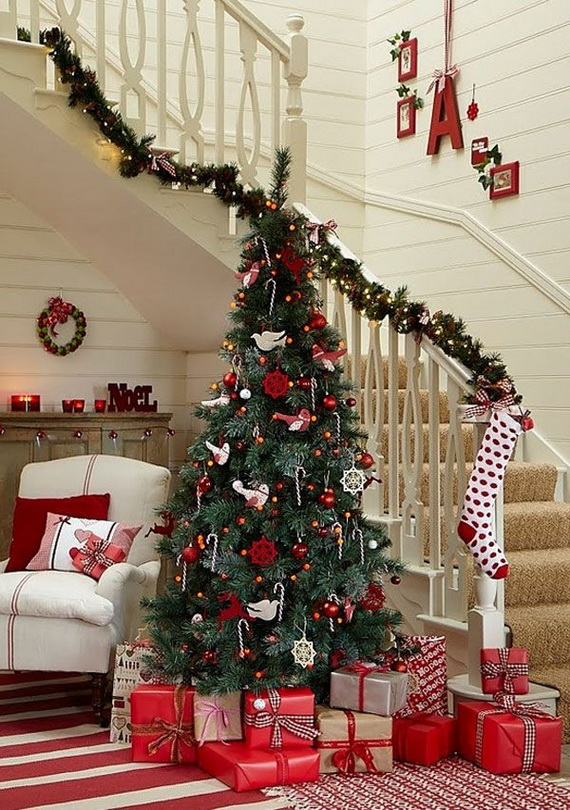 Beautiful Christmas Tree Decorating Ideas for A Holiday Tradition_01