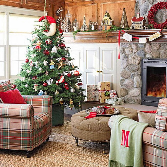 Beautiful Christmas Tree Decorating Ideas for A Holiday Tradition_02