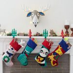 50 Elegant Christmas Stockings  Crafts