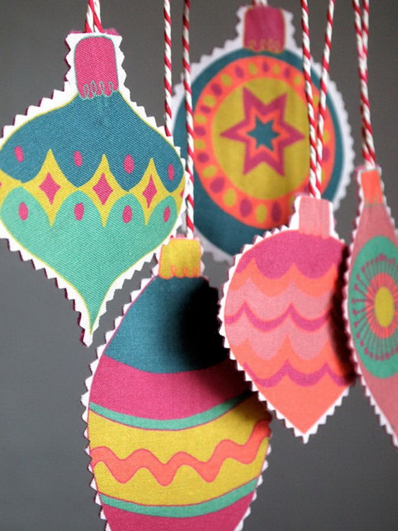Cute and Quirky Homemade Christmas Ornaments for Holidays_10