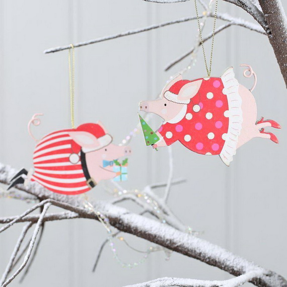 Cute and Quirky Homemade Christmas Ornaments for Holidays_12