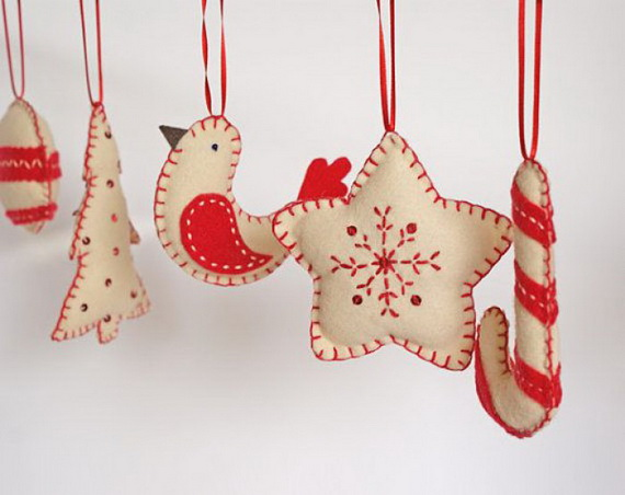 Cute and Quirky Homemade Christmas Ornaments for Holidays_2