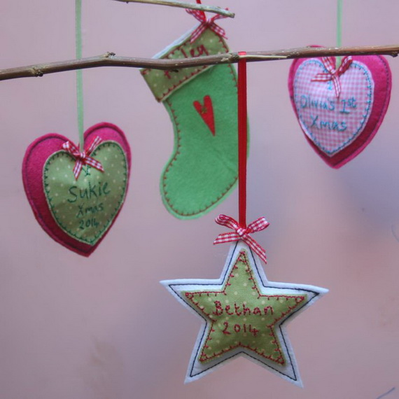 Cute and Quirky Homemade Christmas Ornaments for Holidays_30