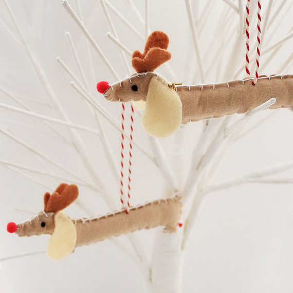 Cute and Quirky Homemade Christmas Ornaments for Holidays_33