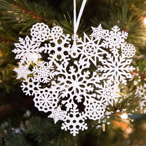 Cute and Quirky Homemade Christmas Ornaments for Holidays_35