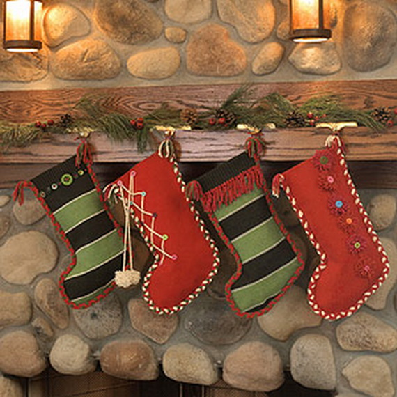 Easy Holiday Christmas Stocking Crafts_15