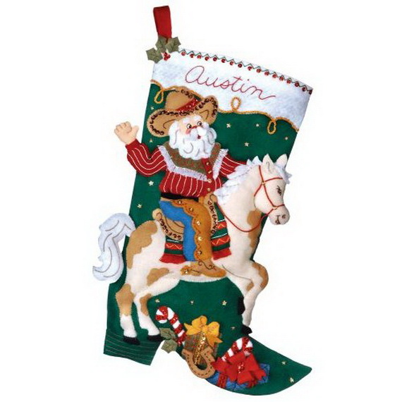 Elegant  Christmas Stocking_14