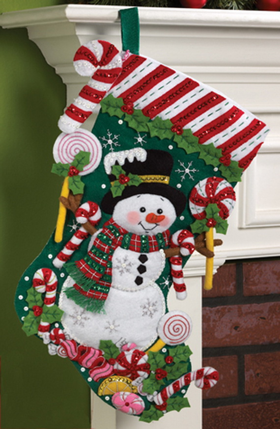 Elegant  Christmas Stocking_23